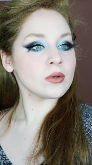 Huda Beauty Mercury Retrograde Teal Black Smokey Makeup Tutorial 2020   Lillee Jean
