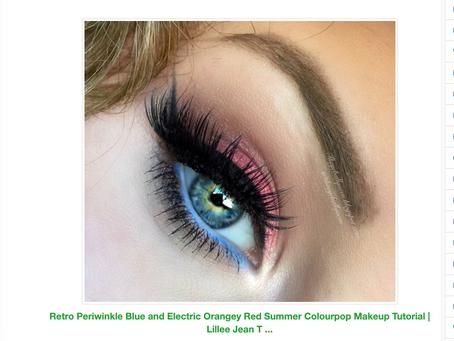 Lillee Jean Periwinkle Blue Eyeshadow Tutorial Shared 2021