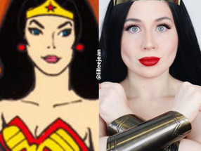 Wonder Woman Makeup Tutorial 2020 DC Comics Cosplay GRWM | Lillee Jean
