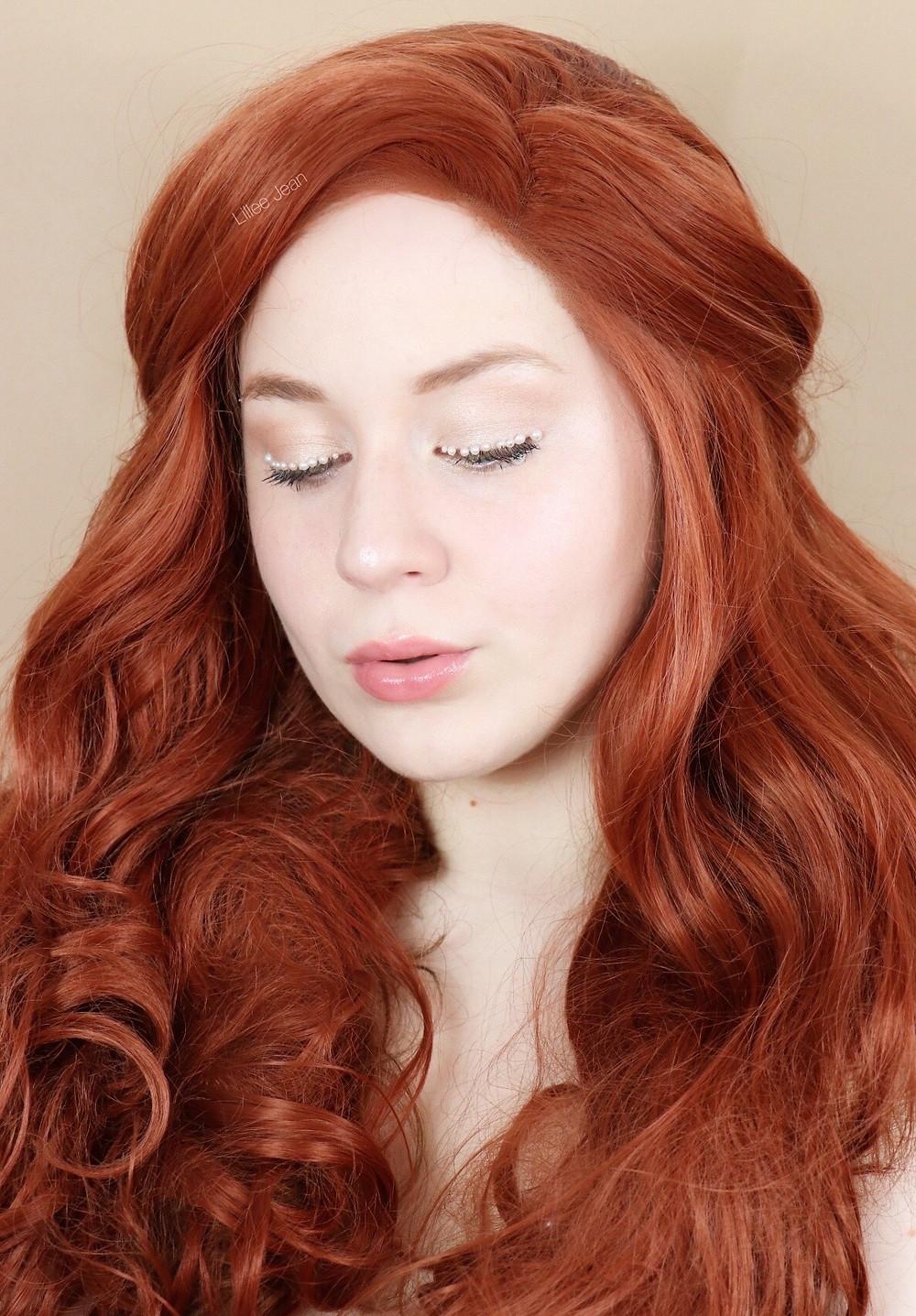 Aphrodite Greek Goddess makeup | PEARL Eyeliner glowy Skin Tutorial 2020 | Lillee Jean