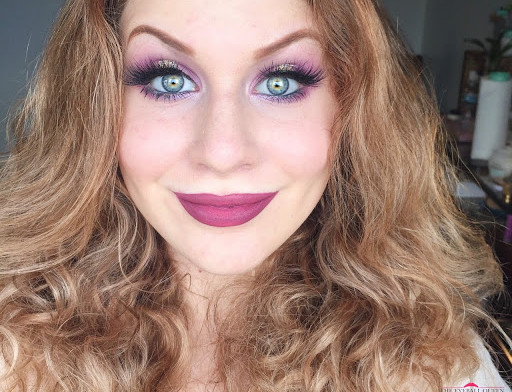 Dreamy White Gold & Soft Lilac Glittery Halo Eye Makeup Tutorial