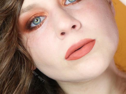 Colourpop California Love Rusty Orange Smokey Eyeshadow Tutorial
