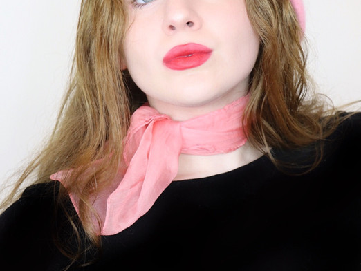 French Girl Beauty Pouty Red Lipstick Easy Makeup Tutorial 2020   Lillee Jean