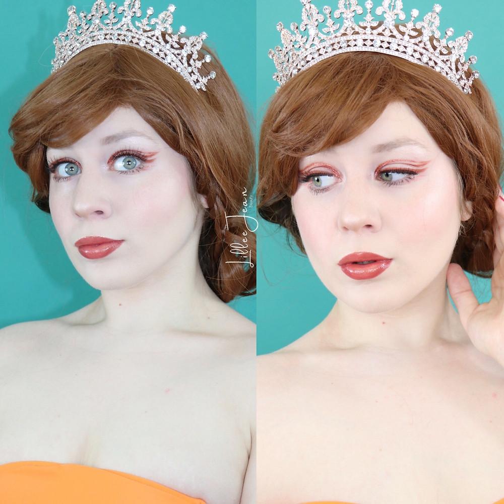 Attina Ariel's Sister The Little Mermaid Disney Makeup Tutorial Cosplay 2020   Lillee Jean