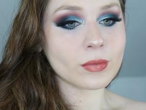 Essence Crystal Iced Teal Makeup Tutorial 2020   Lillee Jean