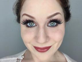 Holiday Series: Glamorous Warm Bronze Glittery Cut Crease Makeup Tutorial