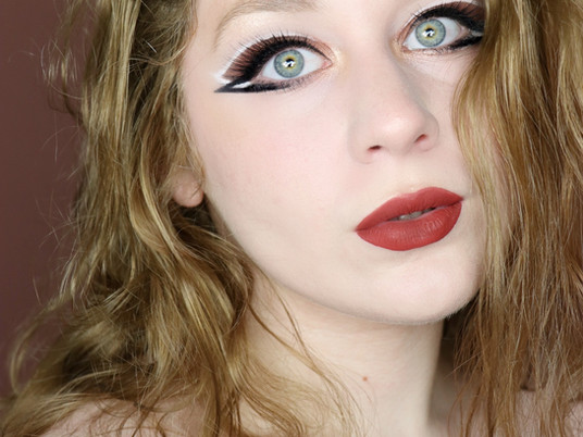 Too Faced Born This Way The Natural Nudes ABSTRACT EYELINER Makeup Tutorial 2020 | Lillee Jean