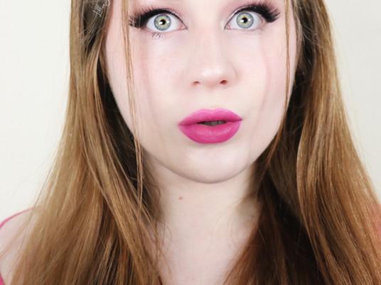 Magenta Lipstick Soft Glam Spring Makeup Tutorial 2021 | Lillee Jean