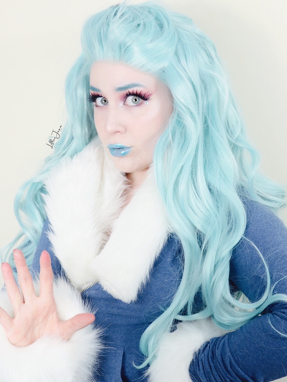 DC Super Hero Girls Frost Makeup Tutorial 2021 | Lillee Jean