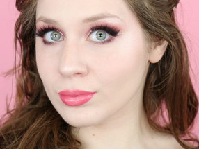 Huda Beauty Nude Obsessions 19th Birthday Makeup | Lillee Jean