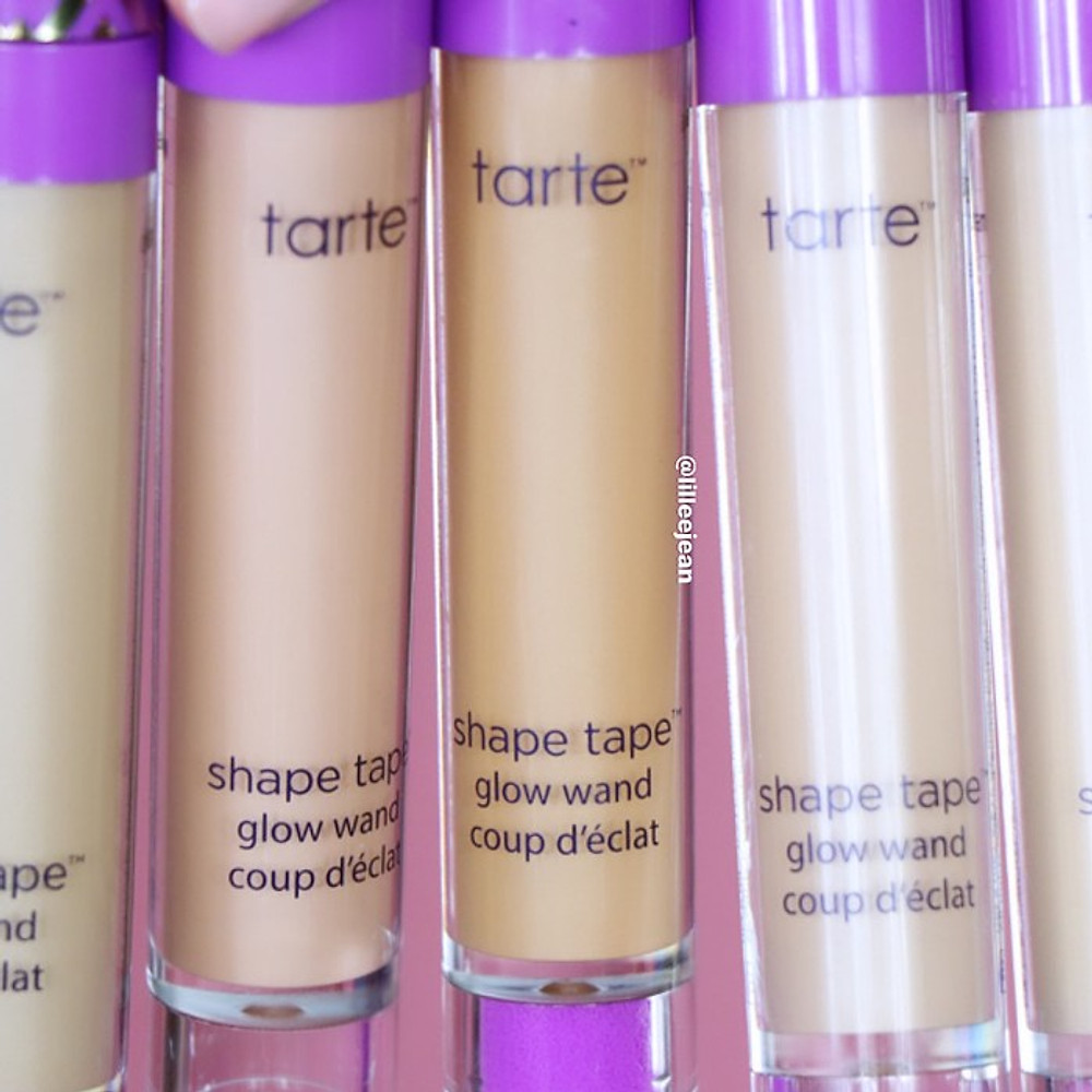 TARTE Shape Tape Glow Wand Swatches and Review   Lillee Jean