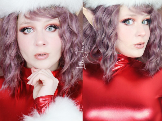 HOLIDAY ELF Beauty Bakerie Sugar Cookies Candy Cane Liner Makeup Tutorial 2020 | Lillee Jean