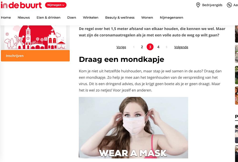 Lillee Jean Mask Gif Used On Indebuurt.nl