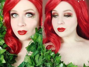 Poison Ivy Holiday NYX MISTLETOE Eyeliner | DC Comics | Makeup Tutorial 2020 | Lillee Jean