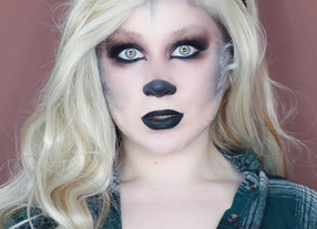 GLAM SILVER Werewolf NARS EXTREME EFFECTS HALLOWEEN Makeup Tutorial 2020 | Lillee Jean