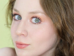 Dewy Fresh Faced Peach Makeup Tutorial 2020   Lillee Jean