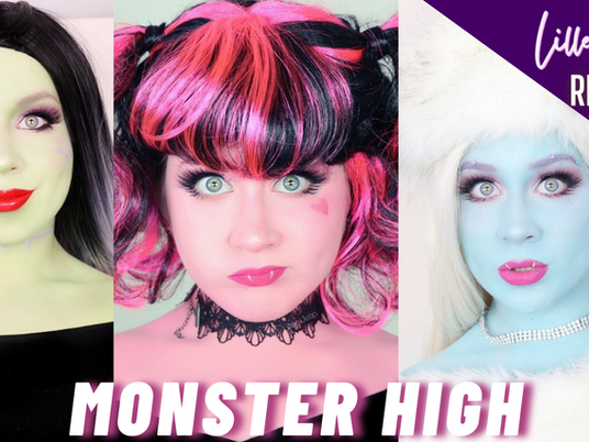 Lillee Jean Compilation | Monster High Makeup | Abbey Bominable, Draculaura, Frankie Stein Tutorial