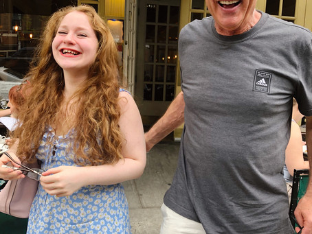 Lillee Jean At Sarabeth's New York City With Hollywood Director Alan Swyer