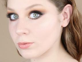 Lime Crime VENUS II Brown Green Glitter Liner Makeup Tutorial | Lillee Jean