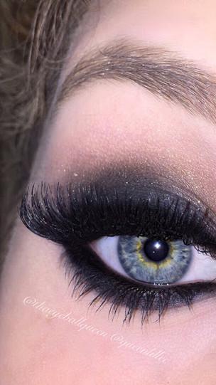 1930's Inspired Sultry Eye