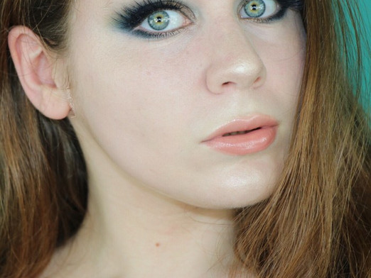 So Jaded Palette Teal & Bronze Dramatic Chatty Makeup Tutorial   Lillee Jean