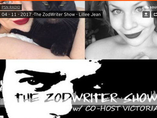 Lillee Jean on PSN Radio: The Zodwriter Show 2017