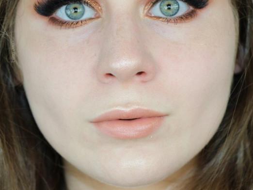 Warm Copper Smokey Eye Affordable Makeup Tutorial   Lillee Jean