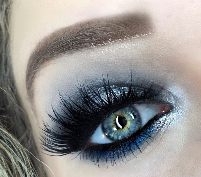 Sultry Shimmery Silver and Blue Virgo Smokey Eye Zodiac Makeup Tutorial 2016 | Lillee Jean