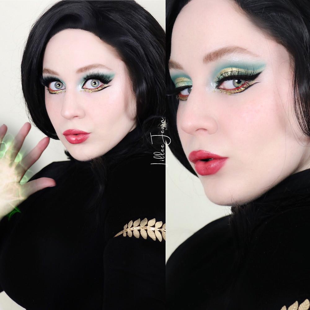 Disney+ Loki Green Makeup Look 2021 | Revolution Chilled | Lillee Jean