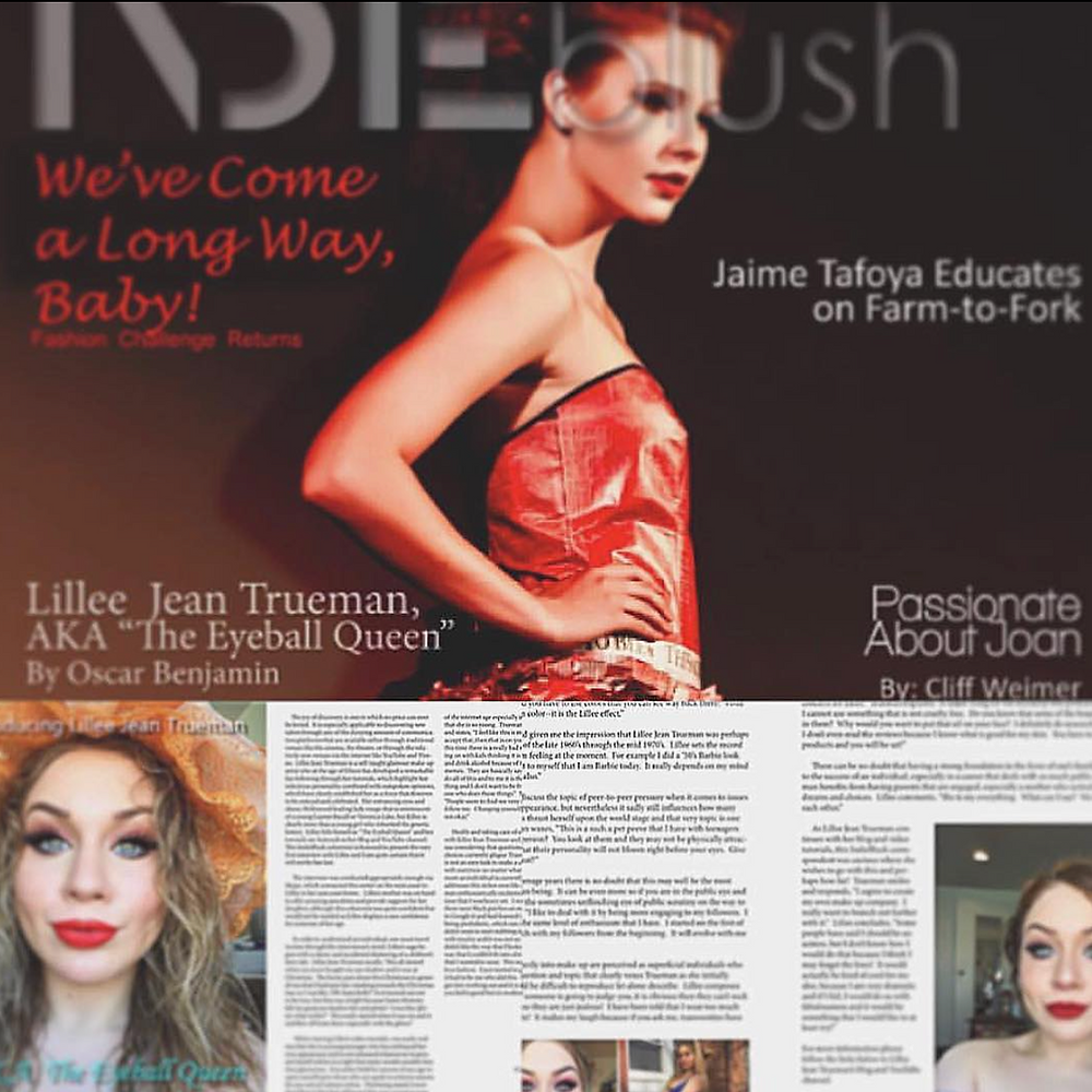 Lillee Jean INDIEBlush Magazine Interview | Adversity At 15 | 2016
