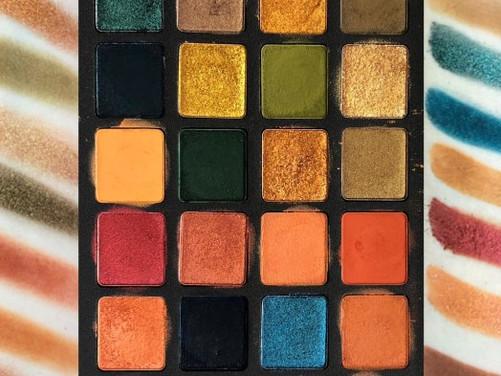 Natasha Denona Metropolis Eyeshadow Palette Swatches | Lillee Jean