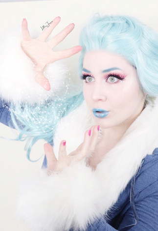DC Super Hero Girls Killer Frost Essence Crystal Iced Makeup Tutorial 2021   Lillee Jean