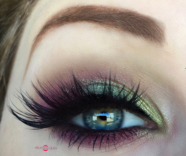 Holiday Series: Shimmery Green & Red Smokey Eye Makeup Tutorial 2016 | Lillee Jean