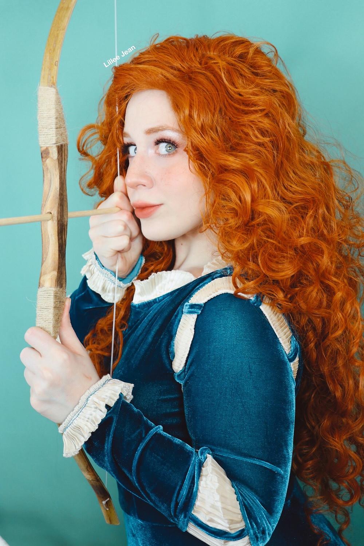 Disney's BRAVE Merida Princess Makeup Tutorial Cosplay 2020 | Lillee Jean