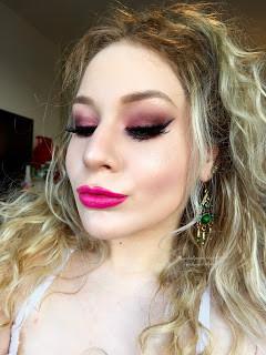 PowerPuff Girls: Blossom Pink Spring Glitter Makeup Tutorial 2016 | Lillee Jean