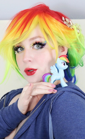 Rainbow Dash Makeup by Lillee Jean.JPG