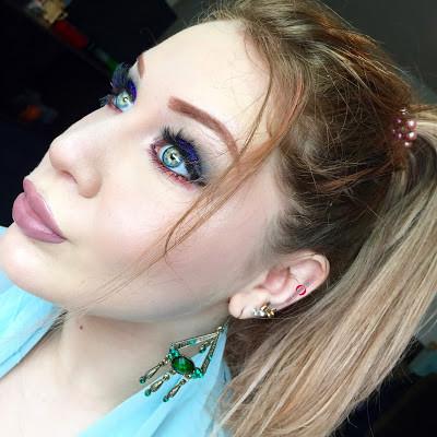 Magical Glittery Genie Halloween Makeup Tutorial 2016 | Lillee Jean