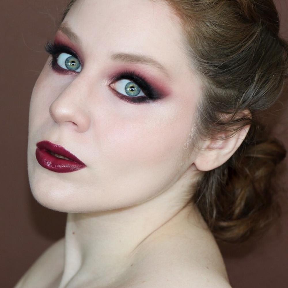 Morphe 35O3 Vampy Holiday Burgundy Makeup Tutorial | Lillee Jean