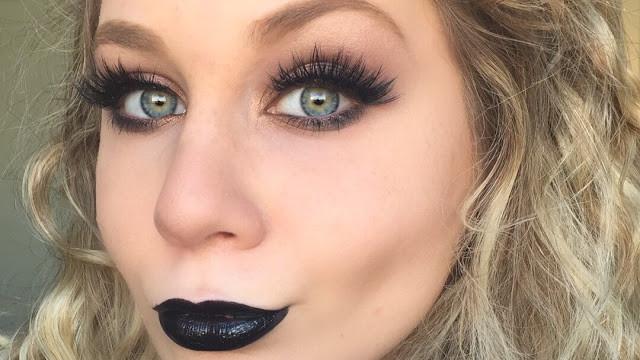 Smokey Black Makeup Tutorial 2015 | Lillee Jean