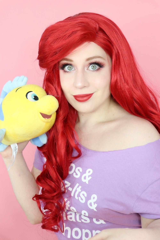 Ariel Wreck It Ralph 2 Comfy Princess Makeup Tutorial Disney Cosplay 2020 | Lillee Jean