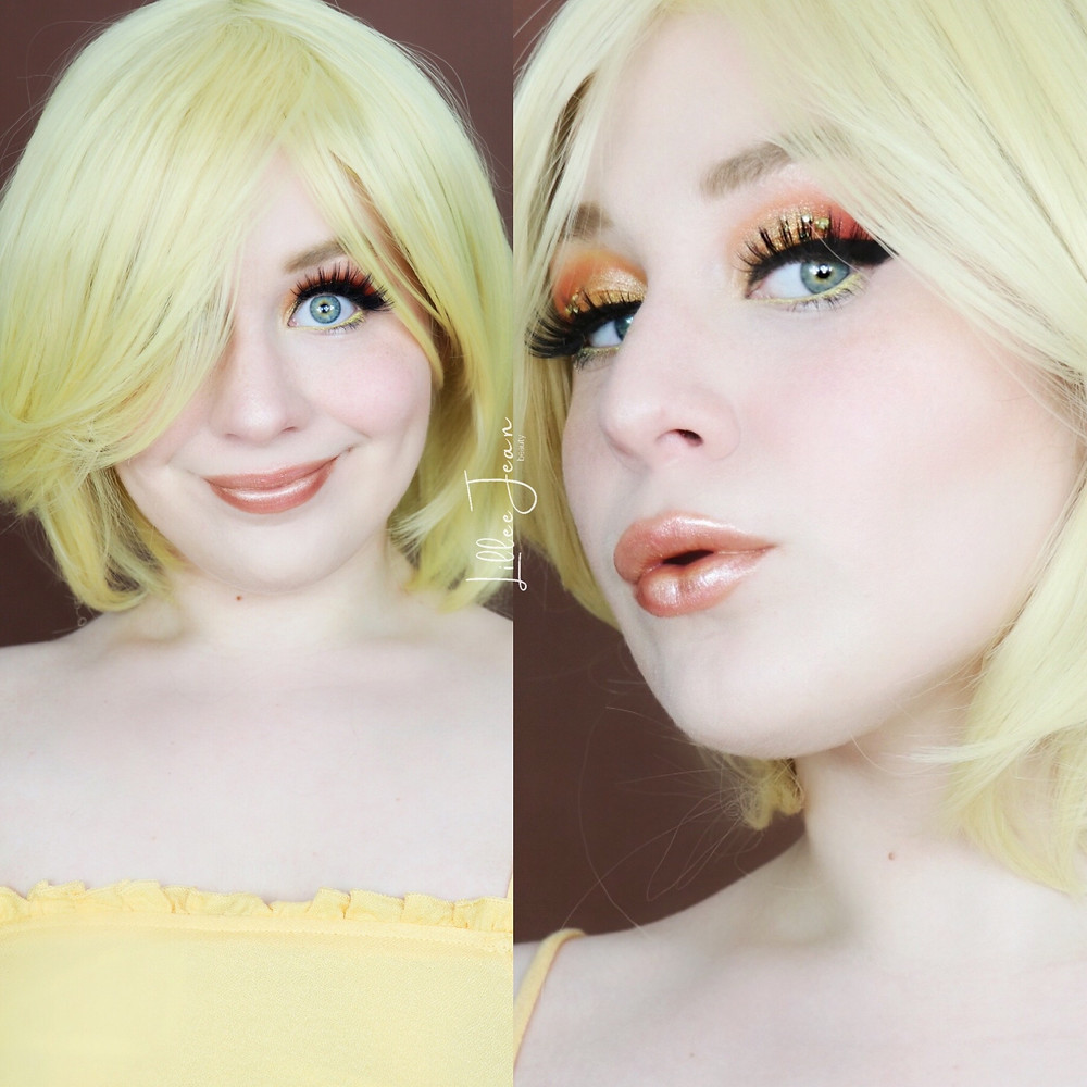 Tweety Looney Tunes YELLOW Makeup   Makeup Revolution Birds of Paradise 2021   Lillee Jean