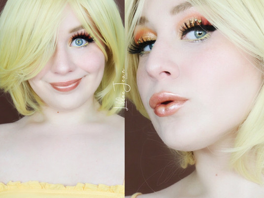 Tweety Looney Tunes YELLOW Makeup | Makeup Revolution Birds of Paradise 2021 | Lillee Jean