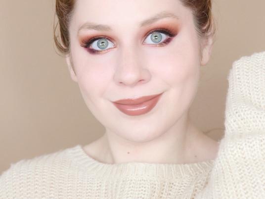 Too Faced Gingerbread Spice Matte Orange Autumn Smokey Makeup Tutorial 2020 | Lillee Jean