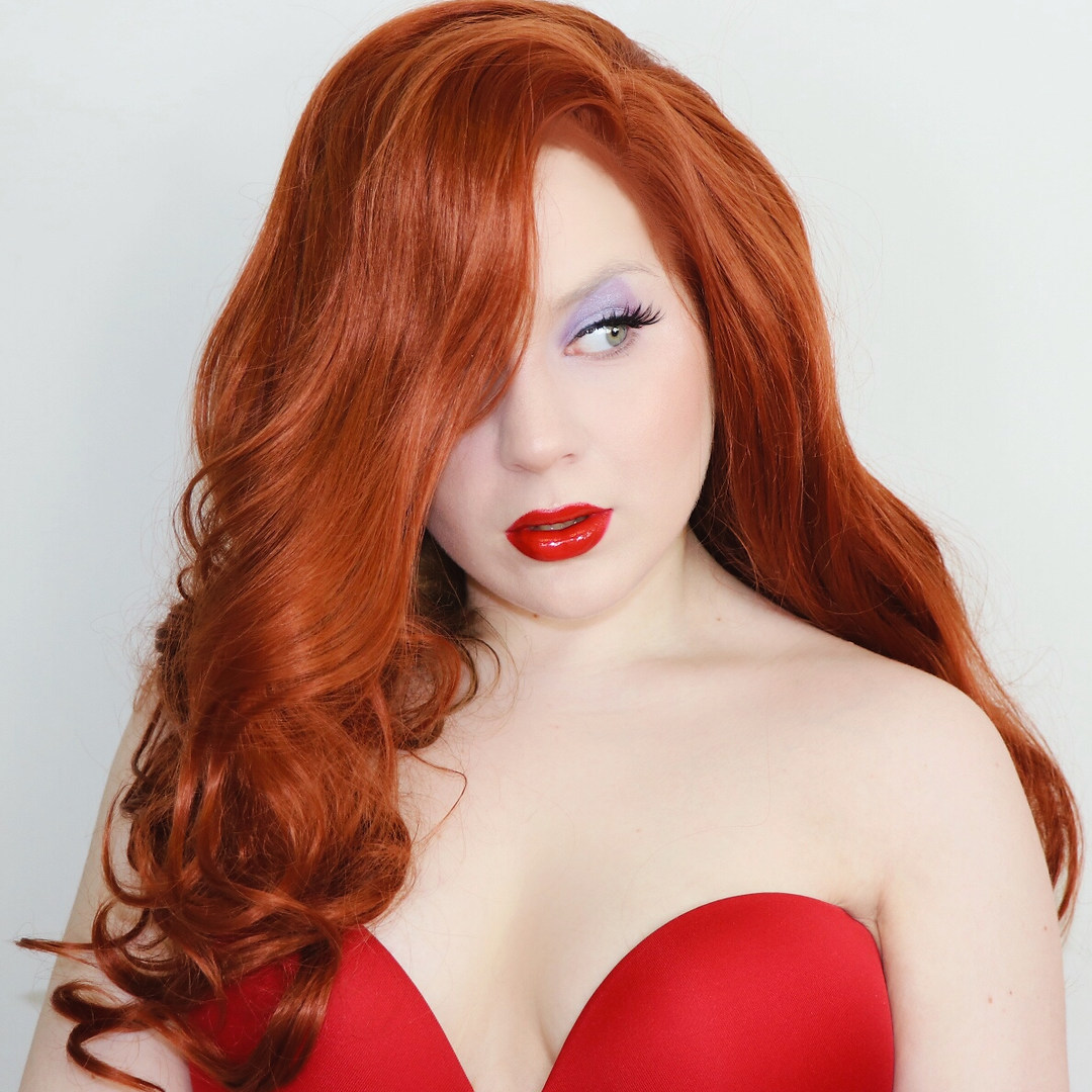 Jessica Rabbit Cosplay by Lillee Jean