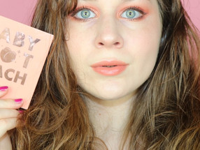NEW Colourpop Baby Got PEACH Palette Easy Makeup Tutorial | Lillee Jean