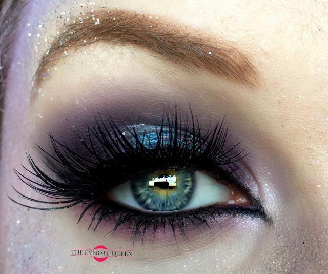 Glittering Purple Mermaid Halloween Makeup Tutorial | 2016 | Lillee Jean