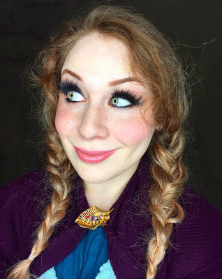 Frozen Princess Anna Halloween Makeup Tutorial (Cosplay & Inspired Looks)
