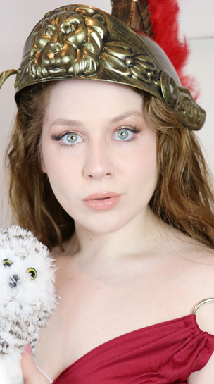 Athena Greek Goddess Inspired Makeup Tutorial | GLASS SKIN | Cosplay 2020 | Lillee Jean