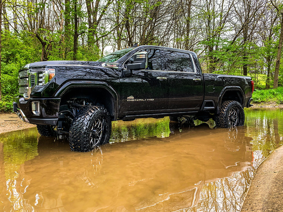 "Everest Lifted Trucks 2020 GMC Sierra 2500HD Duramax Diesel 6"" BDS Suspension Lift"