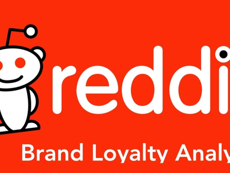 Which brands are the Reddit community most loyal to - and why?